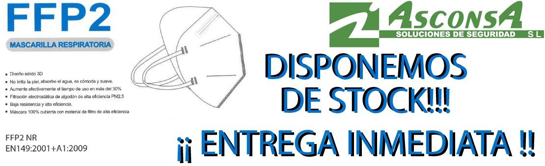 Mascarillas FFP2 - Anti COVID19 - En Stock