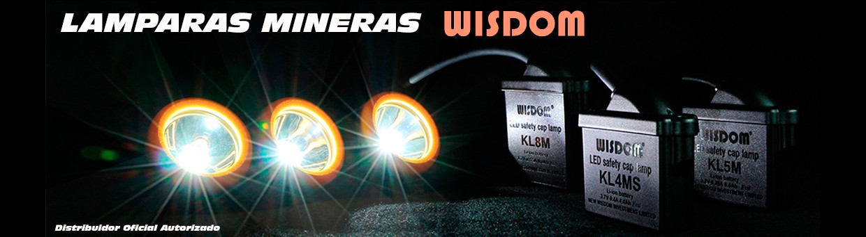 Lamparas Mineras WISDOM